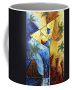Island Martini  Original Madart Painting Coffee Mug