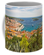Island Of Hvar Scenic Coast Coffee Mug