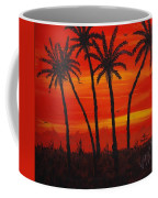 Island Sunset Coffee Mug