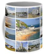 Isle Of Wight Collage - Labelled Coffee Mug