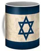 Israel Flag Vintage Distressed Finish Coffee Mug
