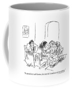 It Started Out With Lactose Coffee Mug by Sidney Harris