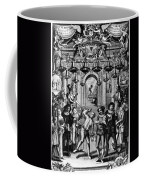 Italian Comedians, 1689 Coffee Mug