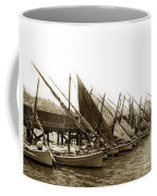 Italian Fishing Boats Fishermen's Wharf San Francisco Circa 1903 Coffee Mug