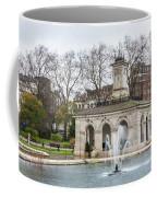 Italian Fountain In London Hyde Park Coffee Mug by Semmick Photo