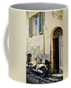 Italian Motor Scooter Coffee Mug