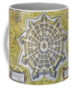 Italy: Palmanova Map, 1598 Coffee Mug