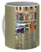 Italy Portofino Colorful Boats Of Portofino Coffee Mug