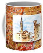 Italy Sketches Florence Towers Coffee Mug