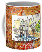 Italy Sketches Venice Canale Coffee Mug