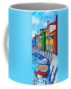 Italy - Venice - Colorful Burano - The Right Side  Coffee Mug