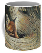 Fox - It's A Big World Out There Coffee Mug