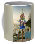 Its A Small World Fantasyland Signage Disneyland Coffee Mug