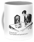 It's Broccoli Coffee Mug by Carl Rose