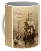 It's Five O'clock Somewhere Schooner Coffee Mug by John Stephens