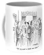 It's My Usual - A Double Rum Raisin Coffee Mug