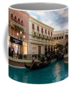 It's Not Venice - Gondoliers On The Grand Canal Coffee Mug