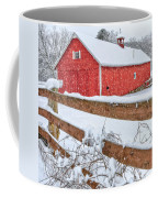 It's Snowing Square Coffee Mug by Bill Wakeley