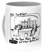 It's Ten O'clock Do You Know Where Your Salt 'n' Coffee Mug