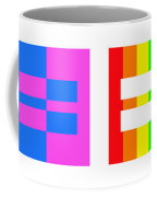 It's Time - Equal Rights For All By Sharon Cummings Coffee Mug
