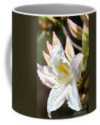 Ivory Azalea Coffee Mug