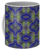 Ivy Abstract 1 Green Blue Coffee Mug