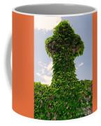 Ivy Covered Cross Coffee Mug