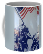 Iwo Jima Flag Raising Design Arizona City Arizona 2004 Coffee Mug