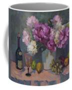 J. P. Chenet And Peonies Coffee Mug