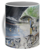 J15 564 Leaving Sheringham Coffee Mug