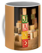 Jake - Alphabet Blocks Coffee Mug