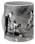 Jackie Robinson In Action Coffee Mug by Gianfranco Weiss