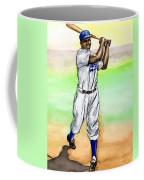 Jackie Robinson Coffee Mug by Mel Thompson