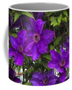 Jackmanii Purple Clematis Vine Coffee Mug