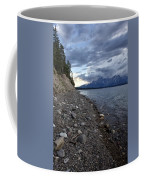 Jackson Lake Shore With Grand Tetons Coffee Mug