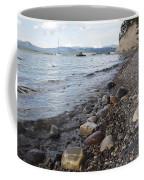 Jackson Lake With Boats Coffee Mug