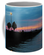Jackson Street Pier - Sunset Coffee Mug