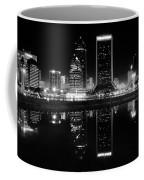 Jacksonille Black And White Night Coffee Mug