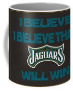 Jacksonville Jaguars I Believe Coffee Mug