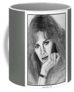 Jacqueline Bisset In 1983 Coffee Mug by J McCombie