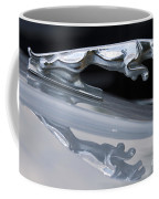 Jaguar Car Hood Ornament Reflection Coffee Mug