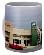 Jaguar Land Rover At Dusk Coffee Mug