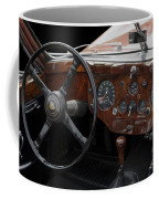 Jaguar Odtimer Steering Wheel Coffee Mug