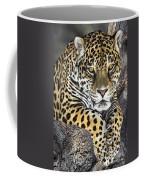 Jaguar Portrait Wildlife Rescue Coffee Mug by Dave Welling