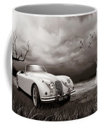 Jaguar Xk150 - Admiring The View Coffee Mug
