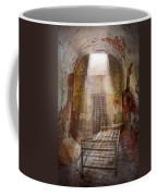 Jail - Eastern State Penitentiary - 50 Years To Life Coffee Mug by Mike Savad