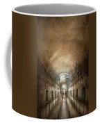Jail - Eastern State Penitentiary - End Of A Journey Coffee Mug