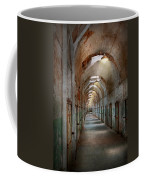 Jail - Eastern State Penitentiary - Endless Torment Coffee Mug