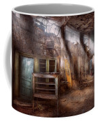 Jail - Eastern State Penitentiary - Sick Bay Coffee Mug by Mike Savad