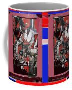 James Earl Jones Smoking Twice Collage The Great White Hope Set Globe Arizona 1969-2012 Coffee Mug